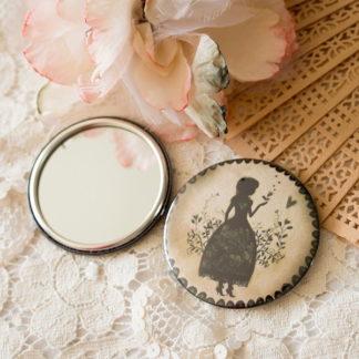 Miroir de poche Miss Shadow «Garden» — MinaSmoke